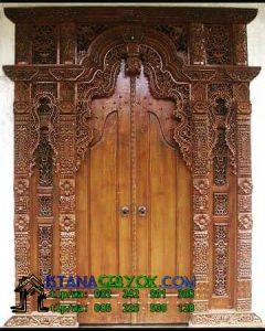 Jual Gebyok Jati Ukiran 2 Meter, Istana Gebyok, Istana Gebyok Jepara