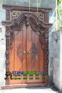 Harga Gebyok Gapura Pintu Utama, Istana Gebyok, Istana Gebyok Jepara