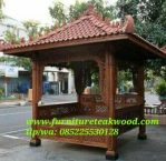 Gazebo Ukir Relief