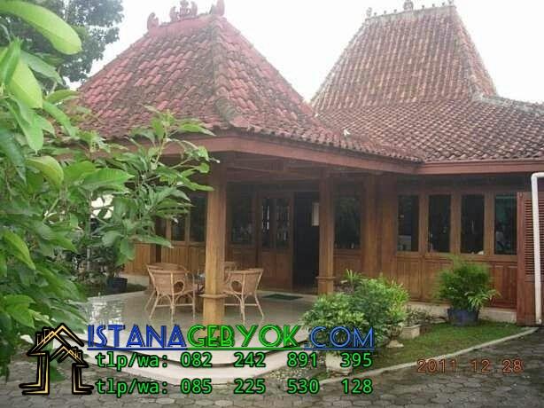 Rumah Joglo Klasik Istana Gebyok Istana Gebyok
