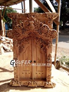 Jual Jendela Gebyok Motif Bali