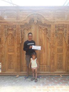 Jual Gebyok Jati Sulawesi