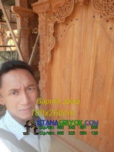 Gebyok Gapura Jawa