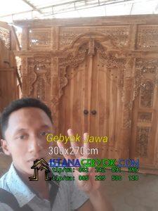 Kusen Pintu Gebyok Jawa