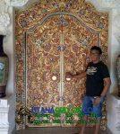 Pintu Gebyok Gapura Finishing Antik