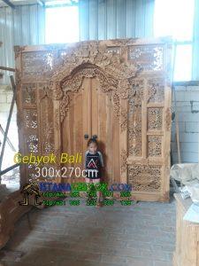 Gebyok 3 Meter Motif Bali
